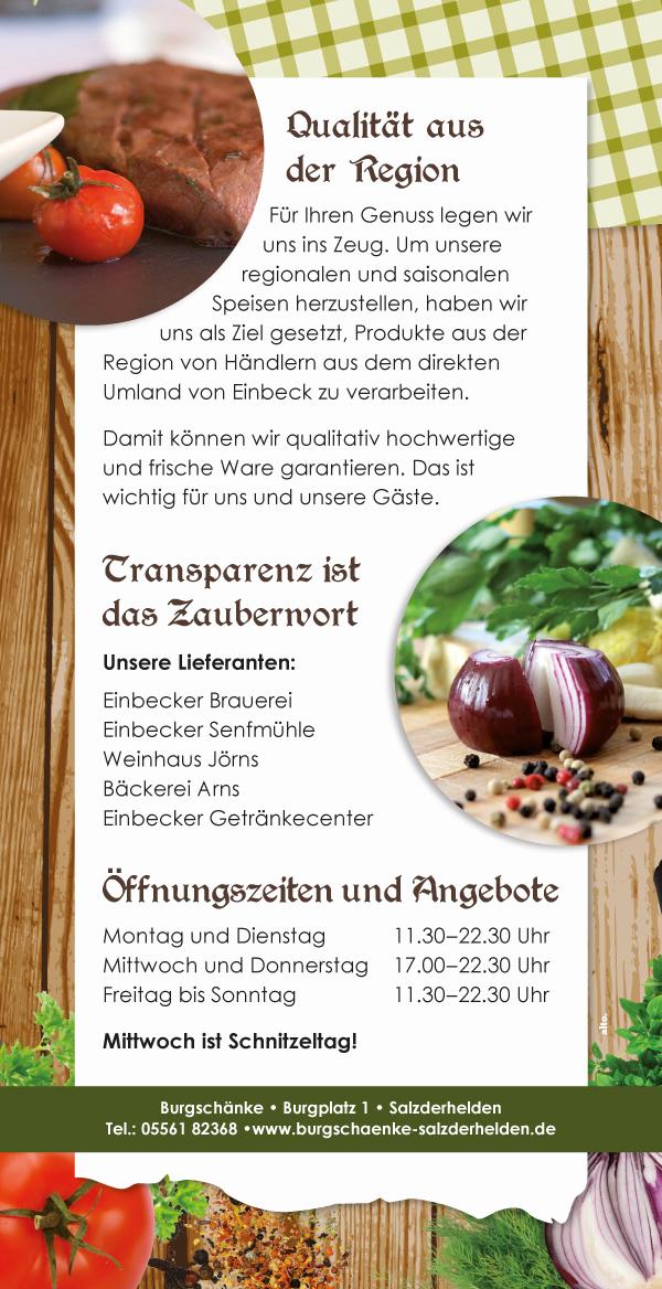 Events - Burgschänke Salzderhelden